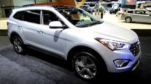 2014 hyundai santa 2014 hyundai santa fe limited awd exterior and interior