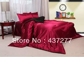 Wine Colored Bedding Sets Top Selling Wine Bedding Sets Home Textile Silk Cotton