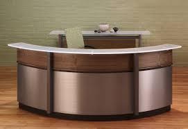 Office Reception Desk Designs Desk Ct 135 Modern Salon Front Office Reception Regarding