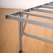sleep master easy to assemble smart platform metal bed frame