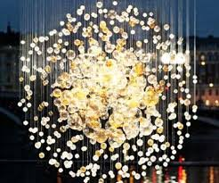 Small Glass Chandeliers Glass Bubbles Chandelier