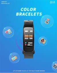 life bracelet app images Buy 2018 color life touch smart watch remote jpg