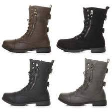s lace up combat boots size 11 s boots ebay
