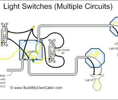 electrical wiring diagram multiple lights one switch lighting