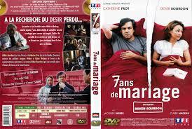 7 ans de mariage jaquette dvd de 7 ans de mariage cinéma