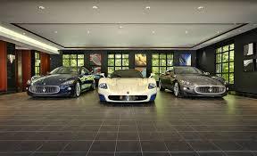 Garage Interior Ideas Stylish Home Luxury Garage Design