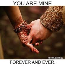 Forever And Ever Meme - you are mine fbcomawwdipu forever and ever meme on me me