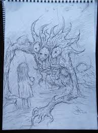 only a bad dream original sketch by eemeling on deviantart