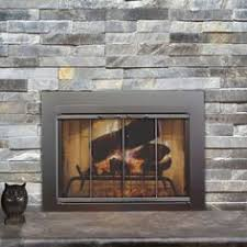 Air Tight Fireplace Doors by Hyde Park Flat Panel Fireplace Screen With Doors 110 Liked