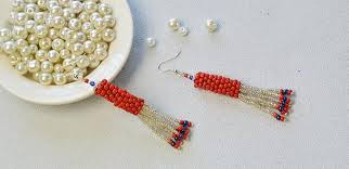 Colorful Chandelier Earrings How To Make Chic Handmade Chandelier Earrings With Colorful Seed