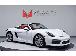 porsche boxster body kit 2016 porsche boxster spyder for sale in nashville tn stock