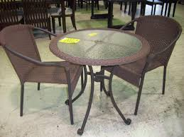 Wicker Patio Table And Chairs Strathmere All Weather Wicker Patio Dining Astounding