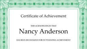 certificates office com