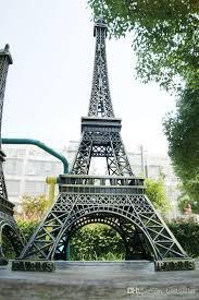large size 72 cm 3d paris eiffel tower model bronze metal crafts