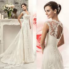 Wedding Dresses Discount Discount Best Selling 2016 Lace Wedding Dresses Cheap Cap Sleeves