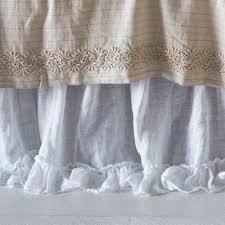 bella notte linen whisper bed skirt quick ship qslwh52