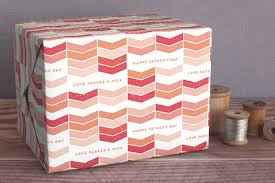 gift wrapping ideas custom wrapping paper from minted