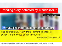 this adorable 12 harry potter advent calendar is for the