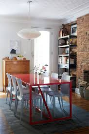 Dining Room Showcase Red