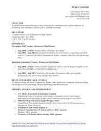 sample resume general objective general resume objective and get