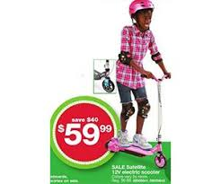 best black friday deals on electric sooters satellite 12v electric scooter deal at kmart black friday is 59 99