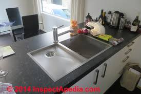 C Kitchen With Sink Island Sink Drain Piping Venting