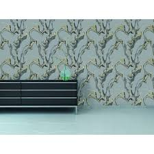 Adhesive Wallpaper by Marble Self Adhesive Wallpaper In Storm Design By Tempaper