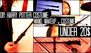 wizard costume wand diy harry potter costume makeup wand under 20