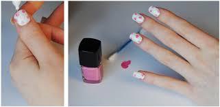 pretty floral nails tutorial hello gwen