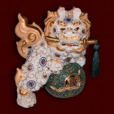 choo foo dogs large porcelain foo dog vintage decorative dog ornate