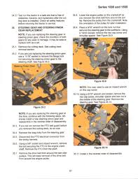 cub cadet lt1050 what is the best way to access the steering