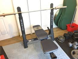 Weight Set Bench Press Bench Barbell And Bench Set Cap Strength Deluxe Standard Bench