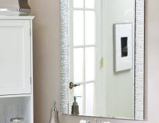 Bathroom Mirror Home Depot by Bathrooms Framed Bathroom Mirrors Bath The Home Depot 14