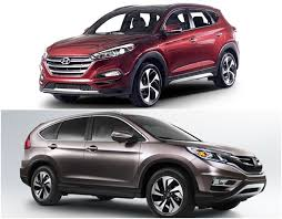 hyundai tucson or honda crv hyundai tucson 2016 vs honda cr v price mileage and other