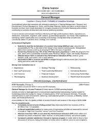 senior executive resume 9 sample executive resumes sample