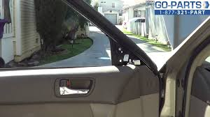 replace 2002 2006 toyota camry side mirror how to change install