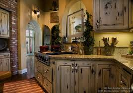 country kitchen cabinet ideas decorating with copper rustic country kitchens distressed country