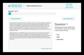 verbal reasoning tests free aptitude tests