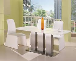 ultra modern ice white marble dining table set dining table