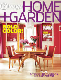 chicago home garden magazine u0027s color issue hits newsstands