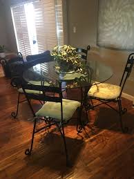 pier 1 glass top dining table round glass top dining table set pier 1 imports furniture in