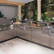 modular outdoor kitchen kits trends with accessories pictures