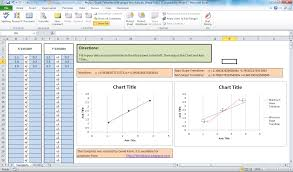 Excel Spreadsheet To Graph Ib Math Physics Creating Perfect Graphs With Minimum And Maximum