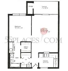 augusta ii floorplan 800 sq ft seven lakes 55places com