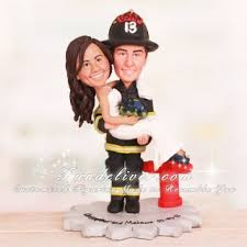 fireman cake topper us air fd firefighter wedding cake toppers