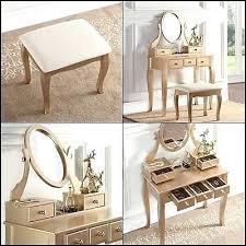 rose gold vanity table gold makeup vanity pdd test pro