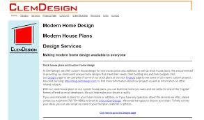 modern house design at clemdesign