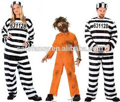 Halloween Inmate Costume Prisoner Halloween Costumes China Wholesale Family Clothes