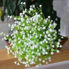 silk baby s breath baby breath artificial flowers wedding tips and inspiration