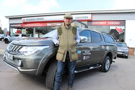mitsubishi barbarian yorkshire gamekeeper scoops mitsubishi l200 for a year